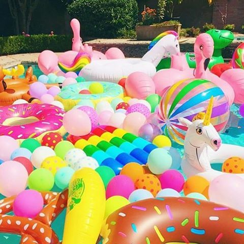 """""""let's party poolside. Regram from one of our favourite brands @shopbando. Love their moto WE ARE SERIOUS ABOUT HAVING FUN #inflatableheaven #allinstore #poolsidefun #allonlineordersdispatchedthisweek #opentill4today"""" Photo taken by @papierdamour on Instagram, pinned via the InstaPin iOS App! http://www.instapinapp.com (10/25/2015)"""