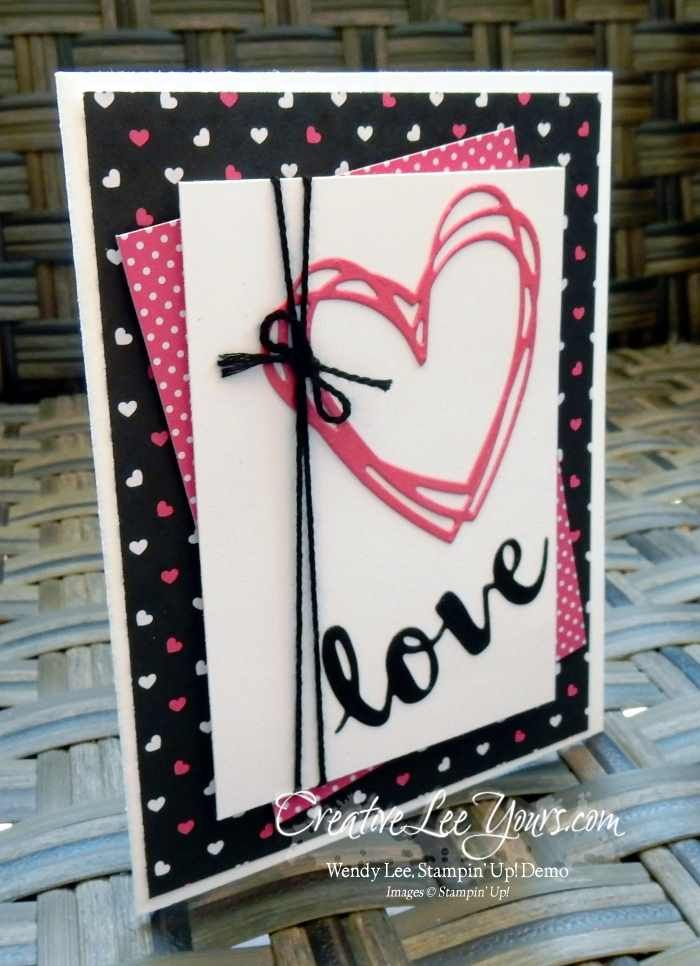 339 best images about Stampin Up Valentines – Hand Made Valentines Day Card