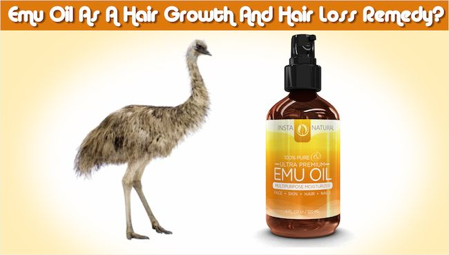 Discover How To Use Emu Oil As A Hair Growth And Hair Loss ...