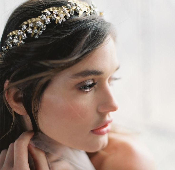 Shop Lily of the Valley Headband or Vine l Photography LAURA GORDON / Accessories & headpieces ENCHANTED ATELIER BY LIV HART / Gown SAMUELLE COUTURE / Rings TRUMPET & HORN / Make-up ASHLEE GLAZER / Hair stylist NIKKI AVANZINO / Model NATALIA WOWCZYKO / Location LYNDHURST CASTLE / Film scans PHOTOVISION