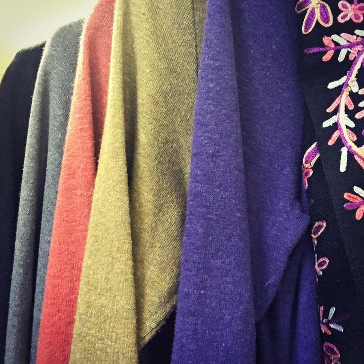 Gorgeous colours of @zeegaflinders  Tulip Dress & Tunic in Hemp & Organic Cotton in store now Sizes 8 to 18 😊  #lyttletonterrace #shopbendigo #shoplocal #australianmade #justaddcolour #naturalfibres #slowfashion #hemp #organiccotton