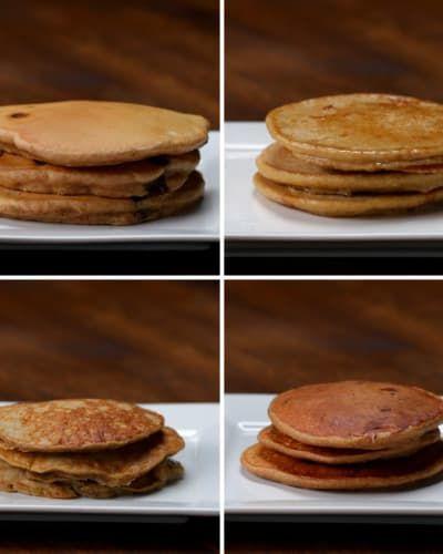 Nutritious Pancakes 4 Ways