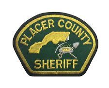 Placer County Sheriff Patch FREE SHIPPING Law Enforcement Police Patches