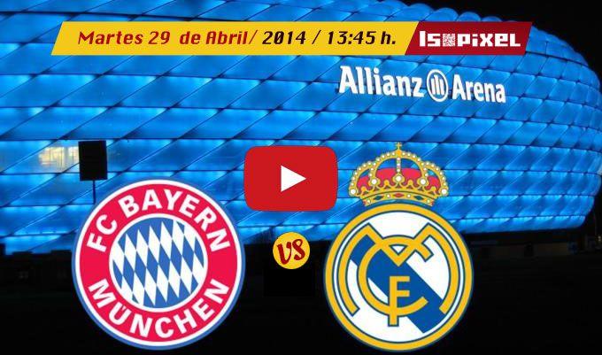 Ver el Bayern Múnich vs Real Madrid en vivo – UEFA Champions League