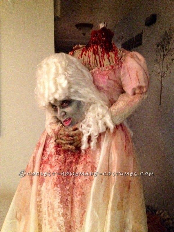 headless marie antoinette halloween costume scary halloween stuffcool