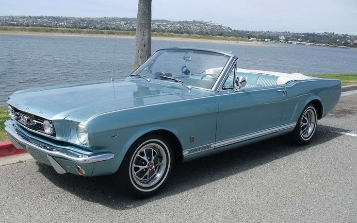 1966 Mustang GT Convertible - Who wouldn't want a perfectly restored classic Mustang?  This is the car of my dreams.