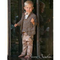 Βαπτιστικό Κουστούμι B3 για αγόρι της Stova Bambini