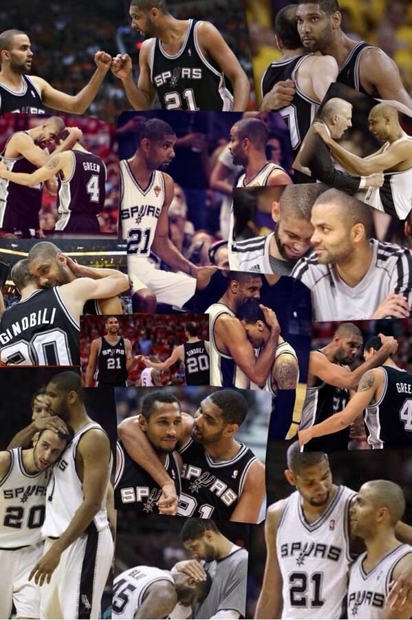 Tim Duncan, San Antonio Spurs, whata guy and whata team.