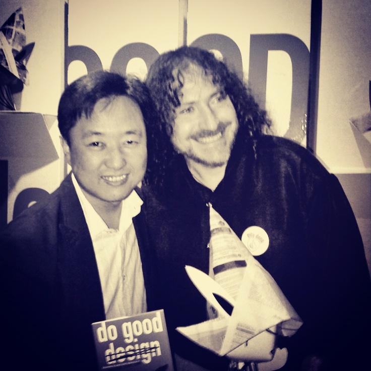 with David Berman, the writer of Do Good Design