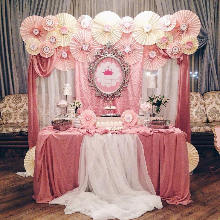«А еще, средь этой суматохи, мы успели оформить годовалый день рождения принцессы:) #деньрождения #оформлениеднярождения #декорднярождения…»