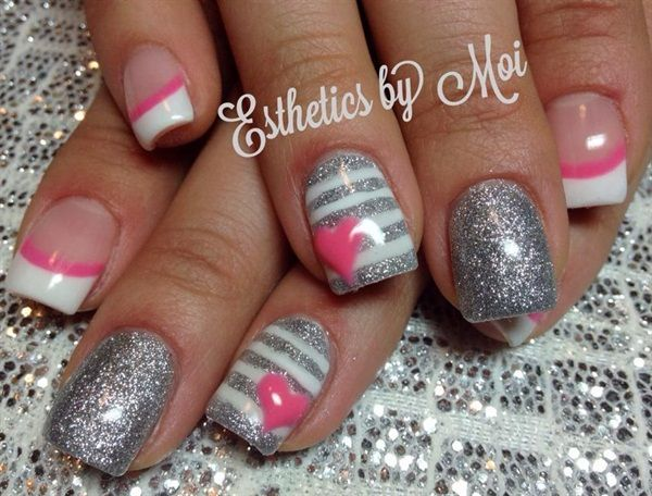 Art Nails -                                                              20 colorful nail art designs #slimmingbodyshapers   How to accessorize your look Go to slimmingbodyshape...  for plus size shapewear and bras