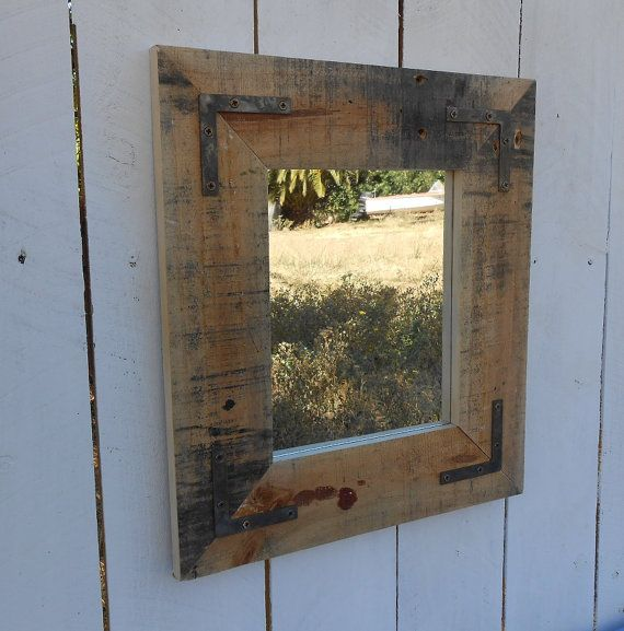 Upcycled Bathroom Ideas: 1000+ Ideas About Pallet Mirror On Pinterest