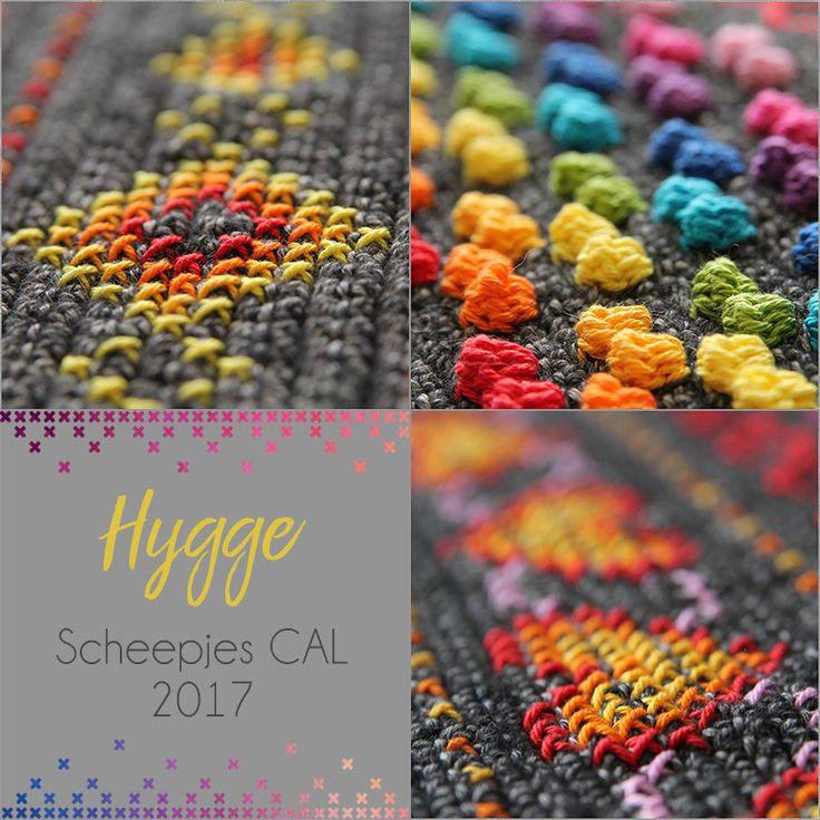 Haakpakket Scheepjes CAL 2017 Hygge - Rainbow