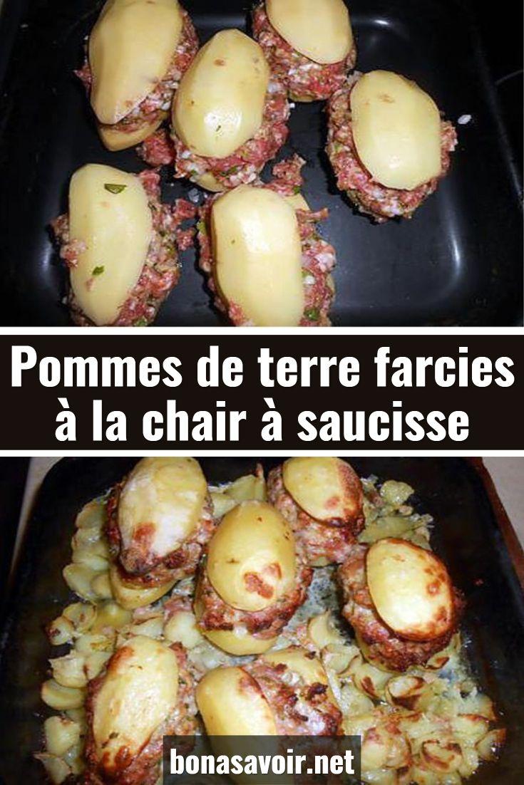 Pomme De Terre Farcie Chair A Saucisse : pomme, terre, farcie, chair, saucisse, Pommes, Terre, Assimilés