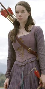 I love the girls' Narnia dresses: elegant, yet ready for adventure.