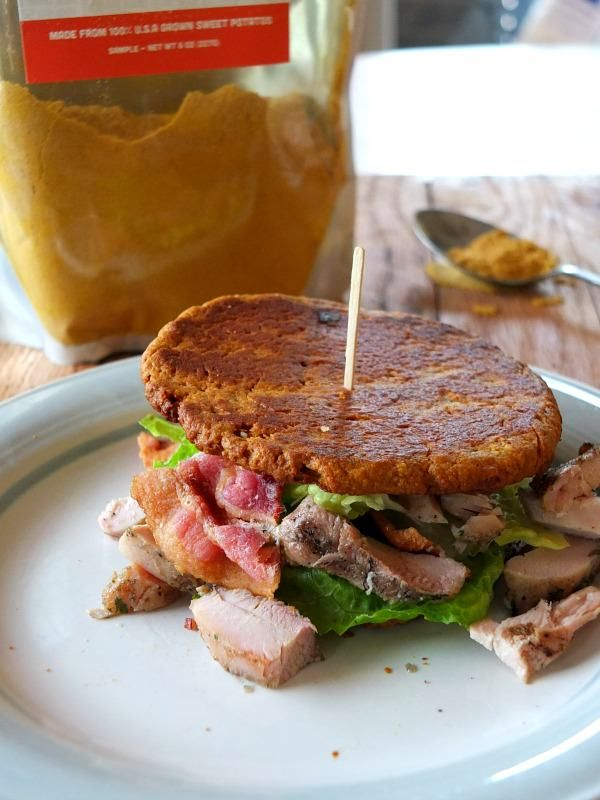 sweet potato flour sandwich thins (AIP)