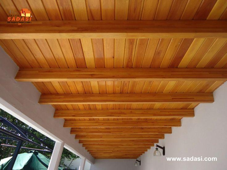 Conjuntoshabitacionales las mejores casas de m xico for Techos de madera para casas