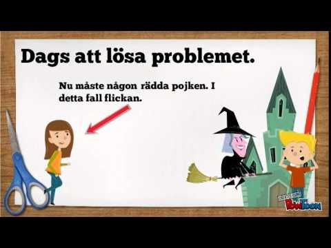"""EN rolig genomgång som tipsar om sagoskrivning. Filmen är gjord av """"Magister Karlström""""."""