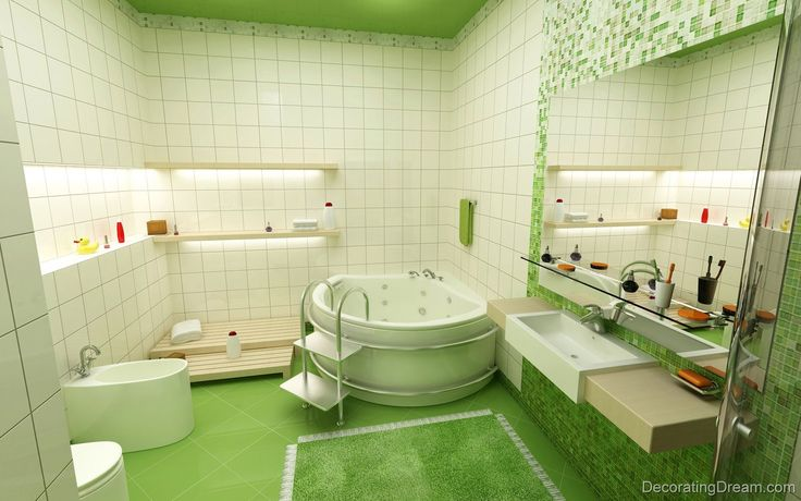 Stylish Ideas  11 Kids Bathroom Design