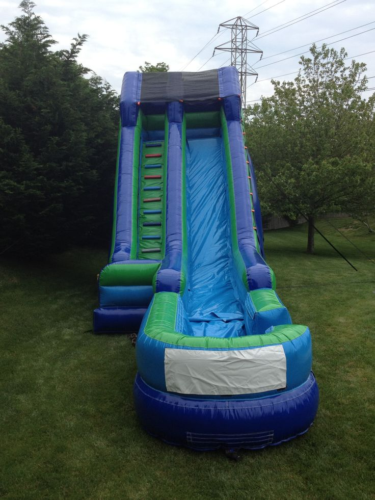 23' Water Slide with Pool www.flosinflatables.com