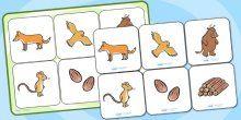 The Gruffalo Matching Cards and Board - the gruffalo, the