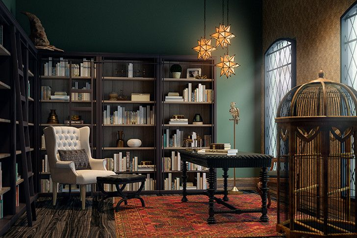 What Every Harry Potter Character S Home Would Look Like Today Harry Potter Style Home Harry Potter Room