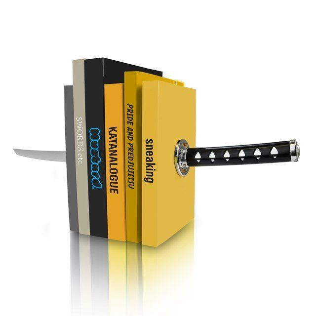 Katana Bookends – $54