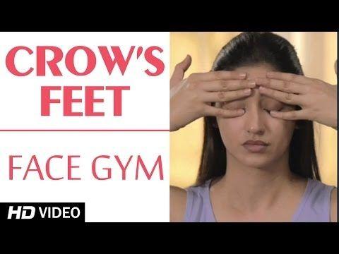Face Gym - Crow's Feet HD | Asha Bachanni - YouTube