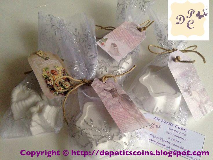 Gessi profumati in confezione natalizia - Scented Chalks in Christmas packaging