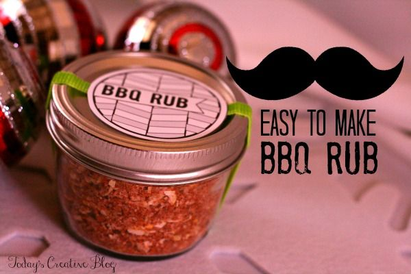 BBQ Rub Recipe- Easy to make, delicious to eat. Finally a homemade