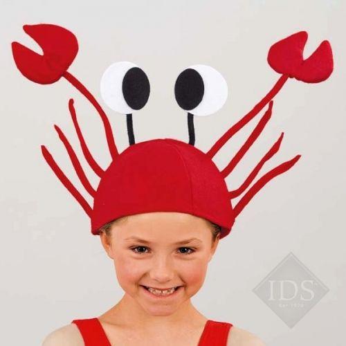 Горячая распродажа войлок красный краб шляпа хэллоуин рождество интересный омар шляпа смешной шляпе купить на AliExpress