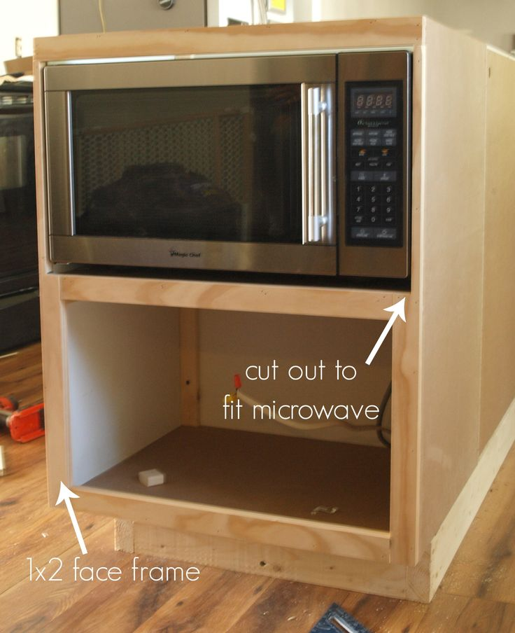 Best 25+ Microwave Cabinet Ideas On Pinterest