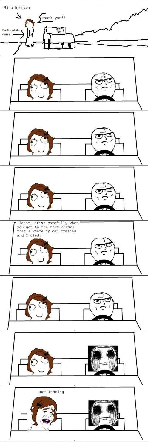 Never pick up random women