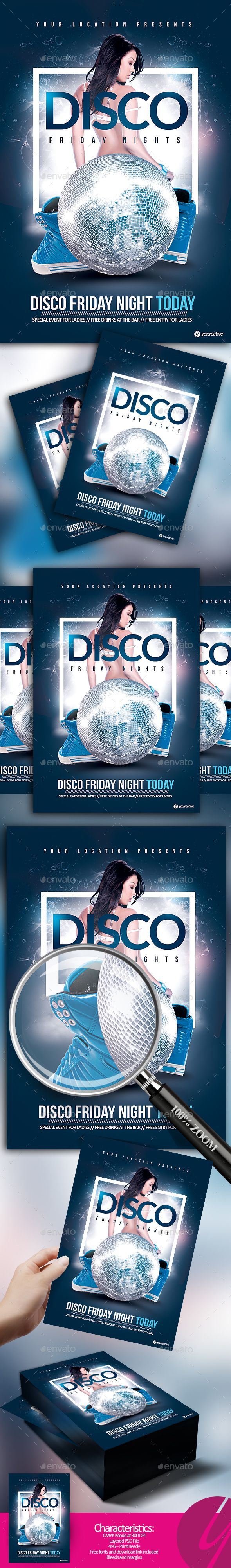 Disco Friday Nights - Clubs & Parties Events
