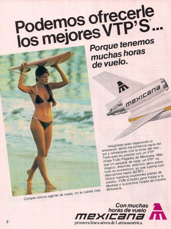 #Mexicana_de_AVIACIÓN,#MÉXICO,# Advert,#PUBLICITY,#DC-10 #Tail_PLANE,#VINTAGE...