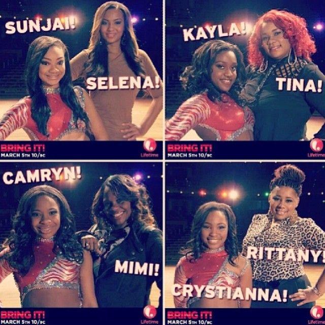 #DD4/Dnacing dolls>>> Sunjai, Kayla, Camryn , Crystianna n their moms