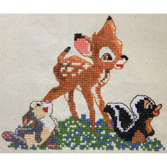 "Disney Dreams Collection By Thomas Kinkade Bambi-8.5""X7"" 8.5 Count"