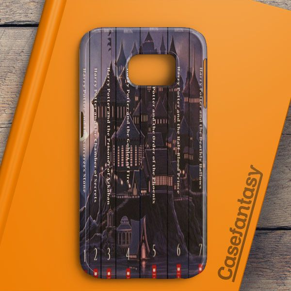 Harry Potter Book Collection Samsung Galaxy S6 Edge Plus Case | casefantasy