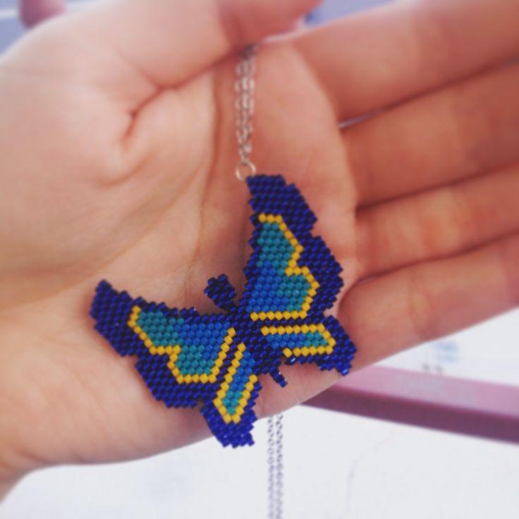 Miyuki butterfly handmade