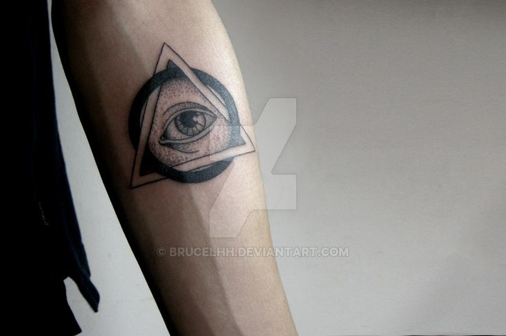 Illuminati Tattoo by brucelhh