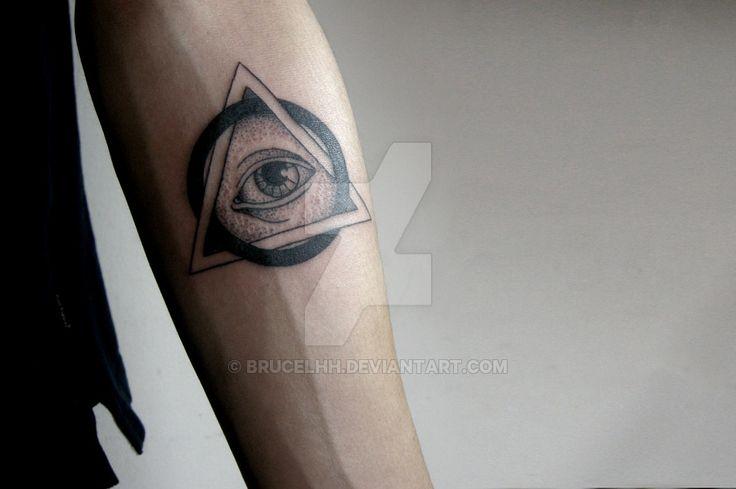 Illuminati Tattoo by brucelhh