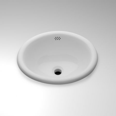 """Manchester Drop In Oval Vitreous China Lavatory Sink 19 1/4"""" x 15 1/2"""" x 8 1/4"""""""