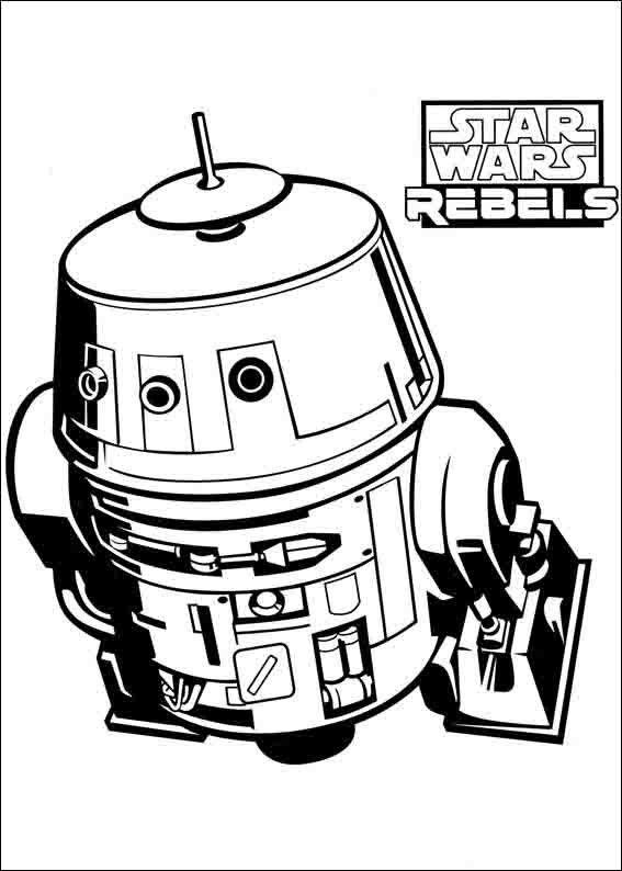 Star Wars Rebels 8 Ausmalbilder Fur Kinder Malvorlagen Zum