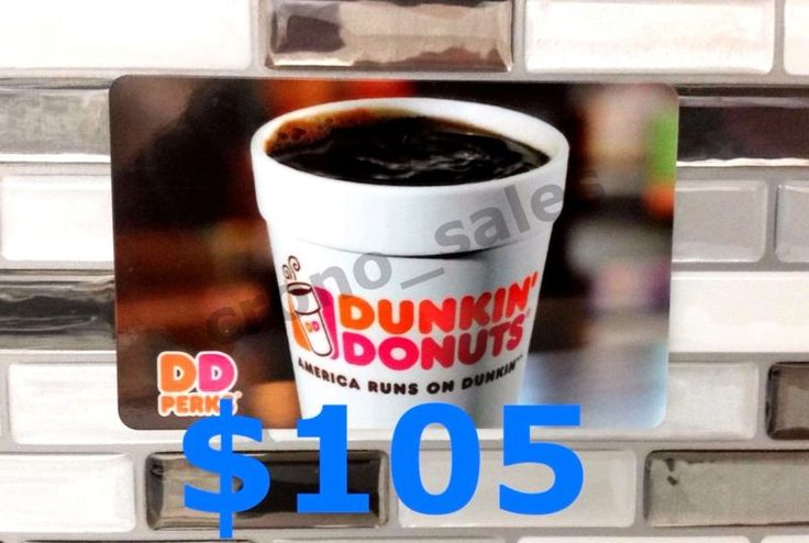 Free USPS Priority Mail Shipping with Tracking Number DUNKIN' DONUTS$105Physical plastic gift card mailed to your doorSame Day Shipping *** IMPORTANT ... #priority #mail #shipping #free #card #donuts #gift #dunkin