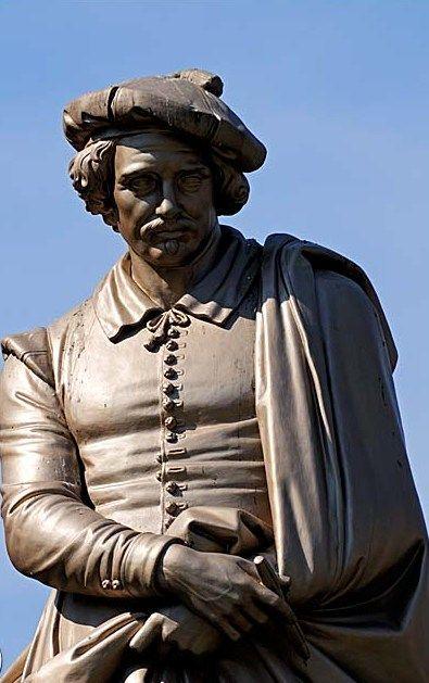 Statue of Rembrandt, Rembrandtplein Amsterdam