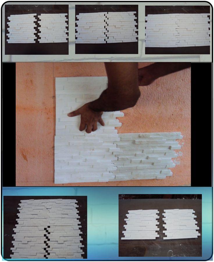 tutorial como colocar placas de gesso canjiquinha