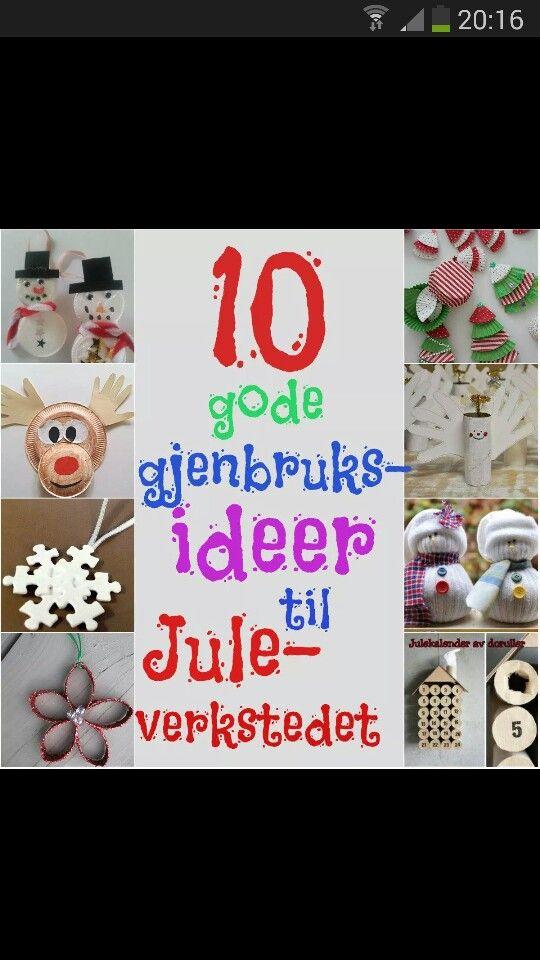 Juleforberedelser http://www.smabarnsforeldre.no/juleverksted-gjenbruk/#comment-22216