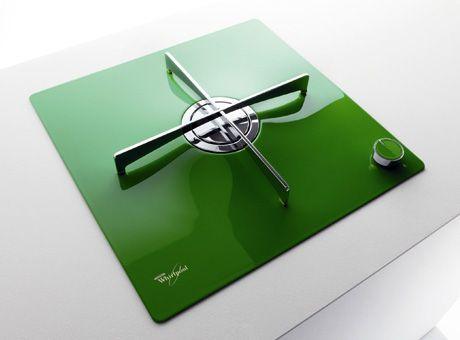 whirlpool-single-burner-hob-glass-green.jpg #ProductDesign #IndustrialDesign #Whirlpool