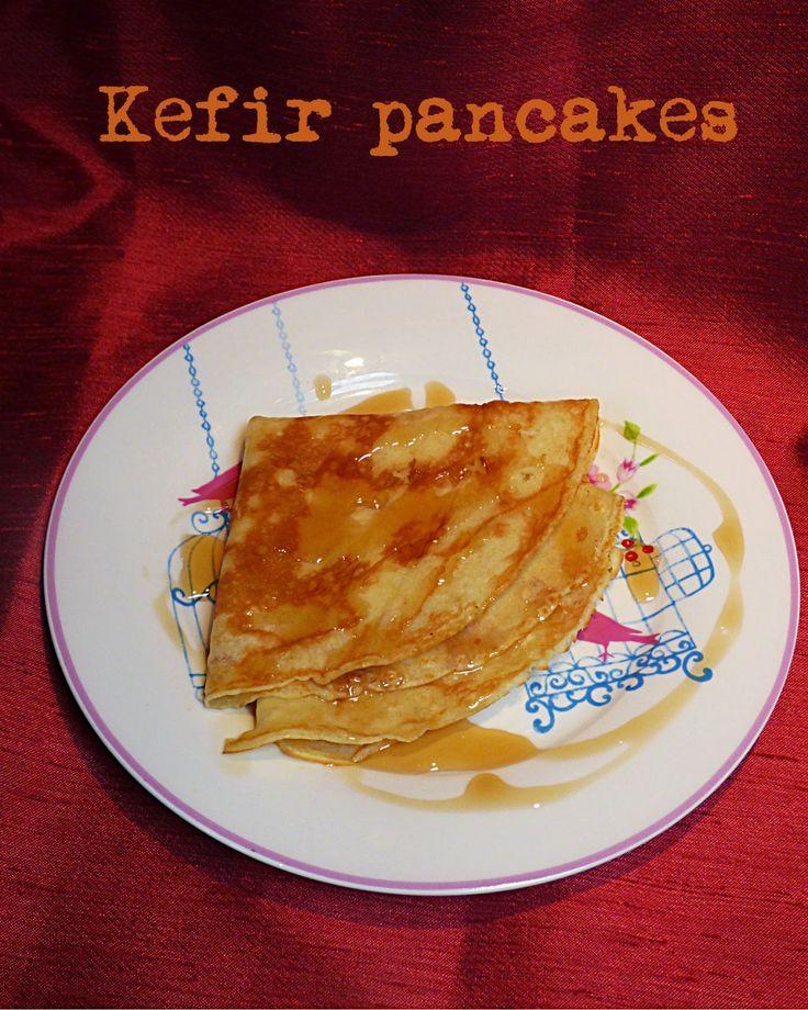kefir pancakes #MapleVLemon