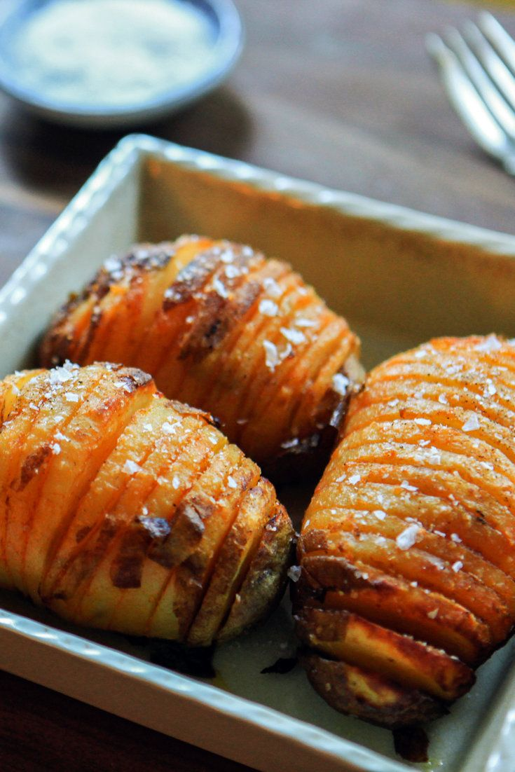 The Hasselback potato, named for the hotel in Stockholm where the recipe was invented in the 1950s, shows off the sheer mass of the Idaho potato like nothing else. In the original, the potato is wrapped in bacon, but you can get good smoky flavor and a gorgeous ruddy color by using smoked paprika. (Photo: Danny Ghitis for The New York Times)